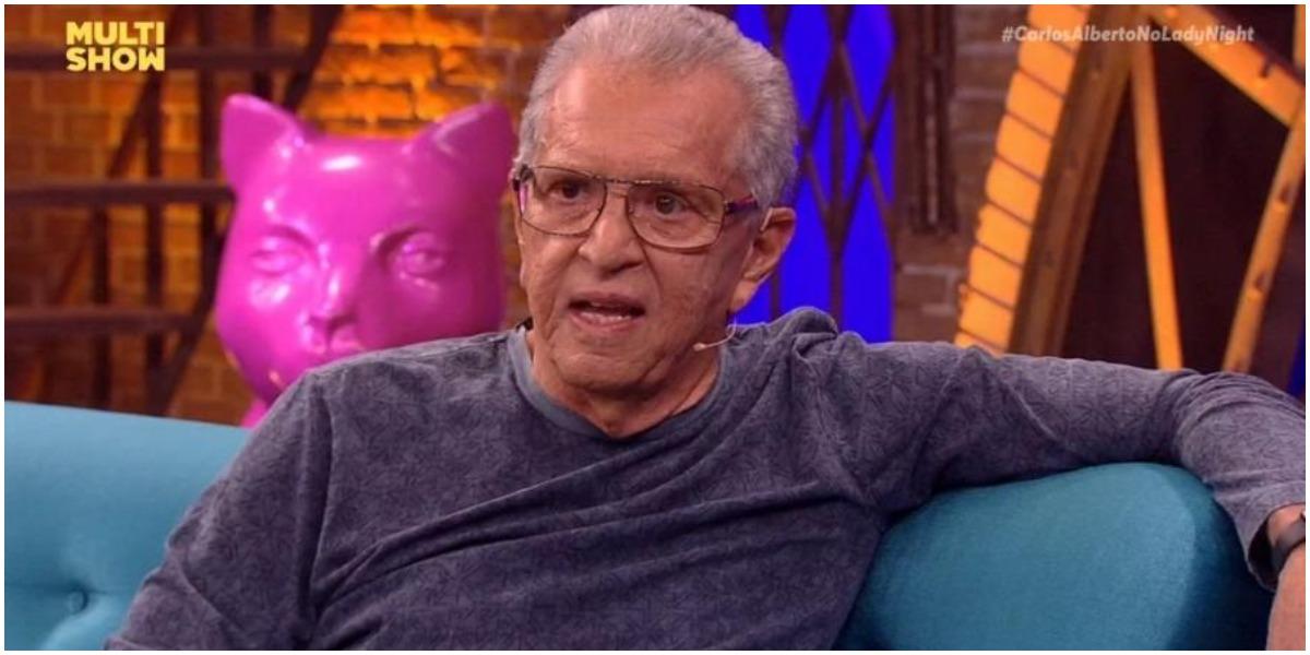 O humorista Carlos Alberto de Nóbrega, da Globo - Foto: Reprodução