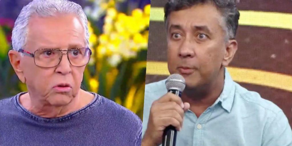 Carlos Alberto viu depoimento de Paulinho Gogó na TV (Foto reprodução)