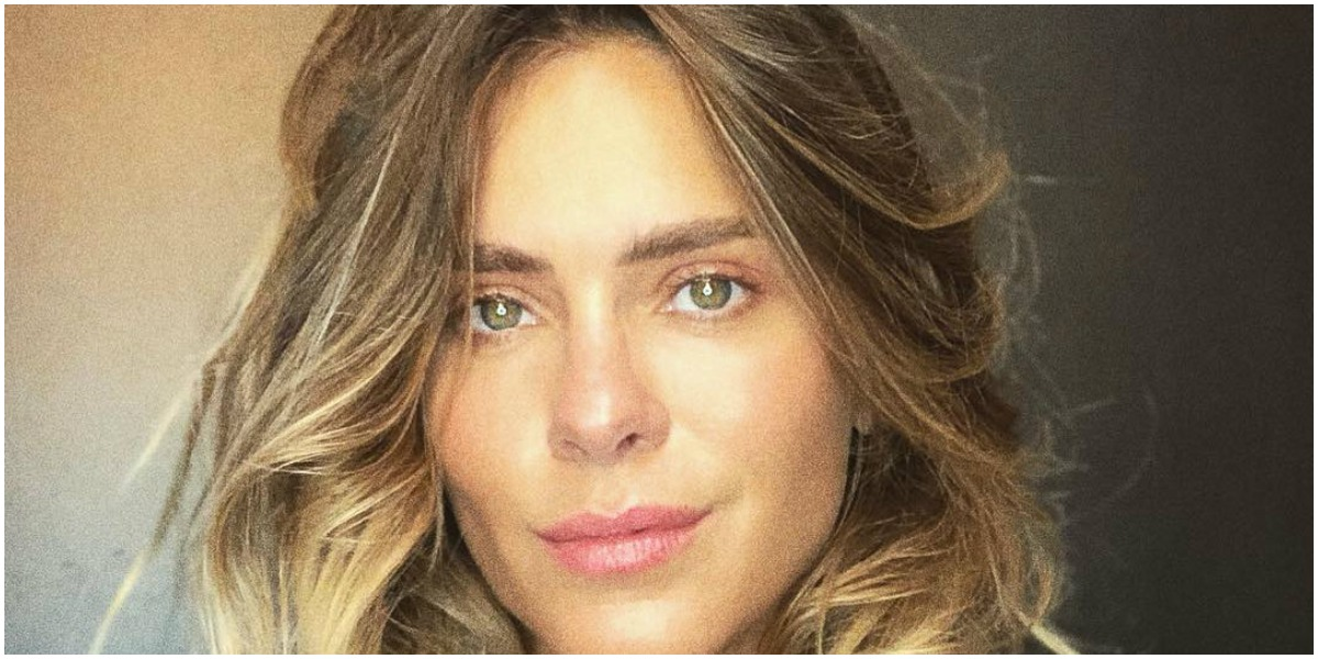 A atriz Carolina Dieckmann surpreendeu - Foto: Reprodução