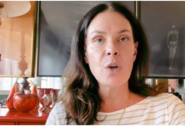 Carolina Ferraz falou sobre sua gravidez aos 47 anos e explicou sobre o tabu que é imposto as mulheres (Foto: Reprodução)