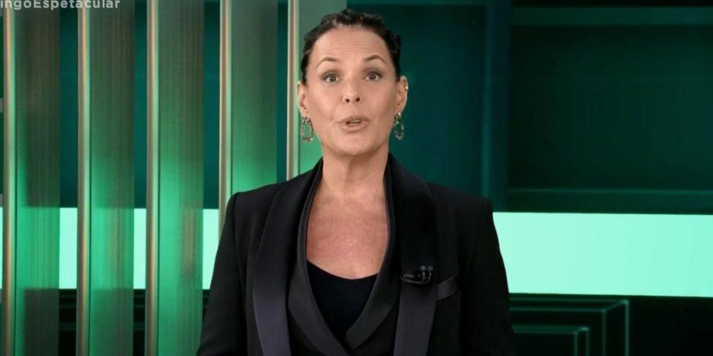 Carolina Ferraz (Reprodução: Record)