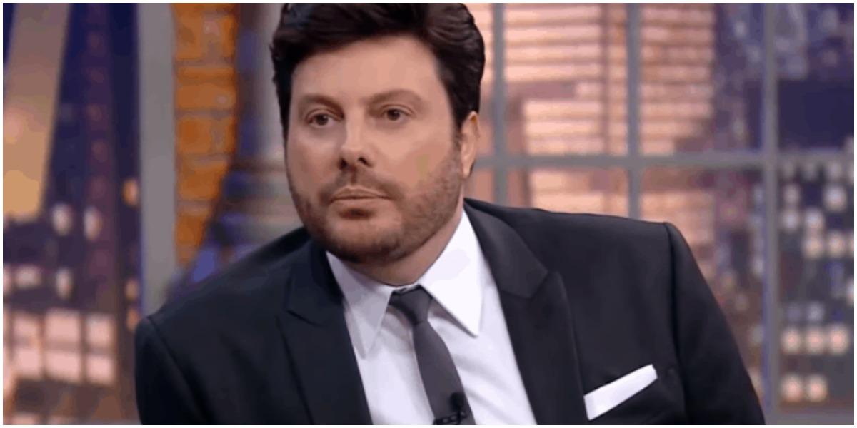Danilo Gentili foi internado e quase morreu (Foto: Reprodução) SBT
