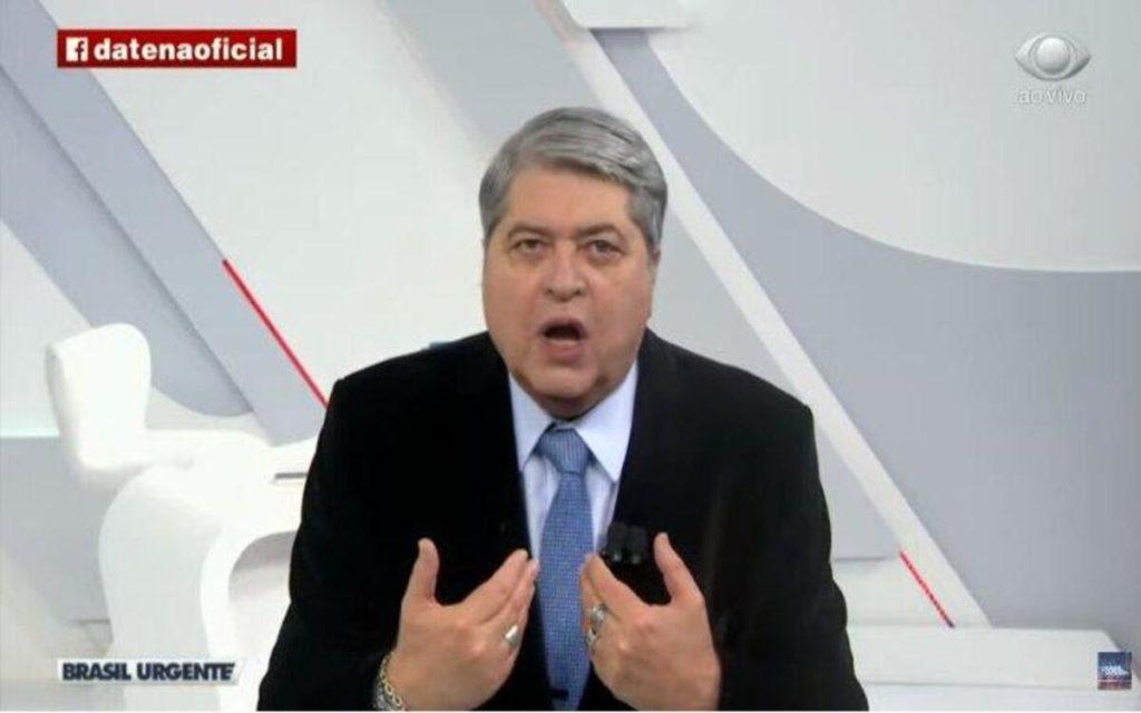 O apresentador Datena (Foto: Divulgação)
