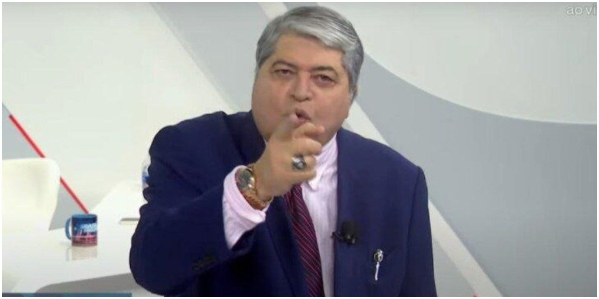 O apresentador Datena, da Globo - Foto: Reprodução