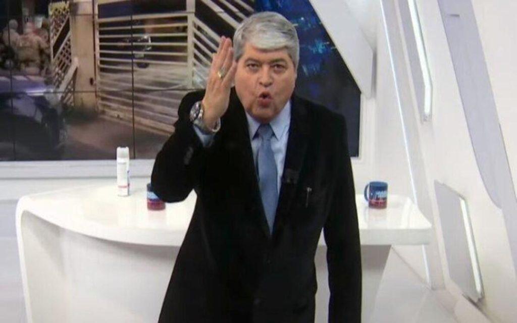 O apresentador Datena deu o que falar após explodir ao vivo (Foto: Divulgação)