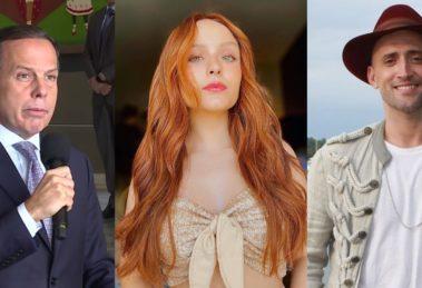 João Dória, Larissa Manoela e Paulo Gustavo tiveram futuro revelado (Foto: Reprodução/G1/Instagram)