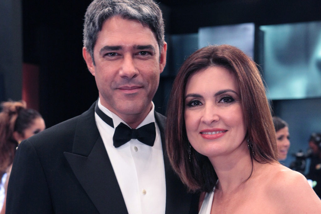 Fátima Bernardes e William Bonner