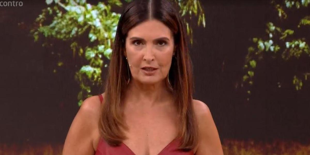 """Fátima Bernardes no """"Encontro"""" (Foto: Reprodução/TV Globo)"""