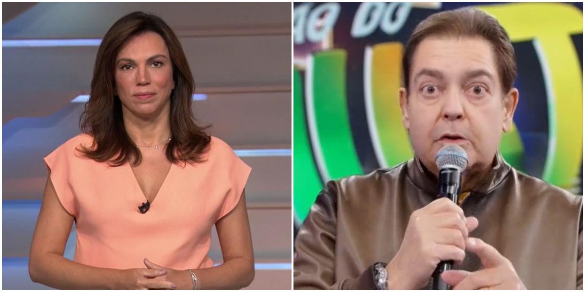 Ana Paula Araújo sai da Globo e Faustão é substituído (Foto: Reprodução)