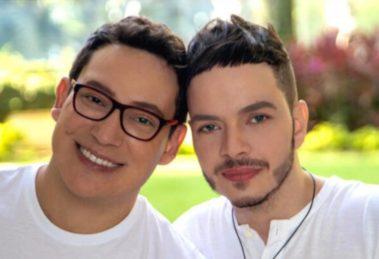 Felipe Heiderich e Bruno de Simone (Foto: Reprodução/Instagram)