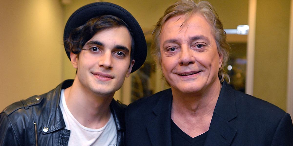 Fiuk expõe treta com o pai, Fábio Jr. no BBB21 (Foto: Reprodução)