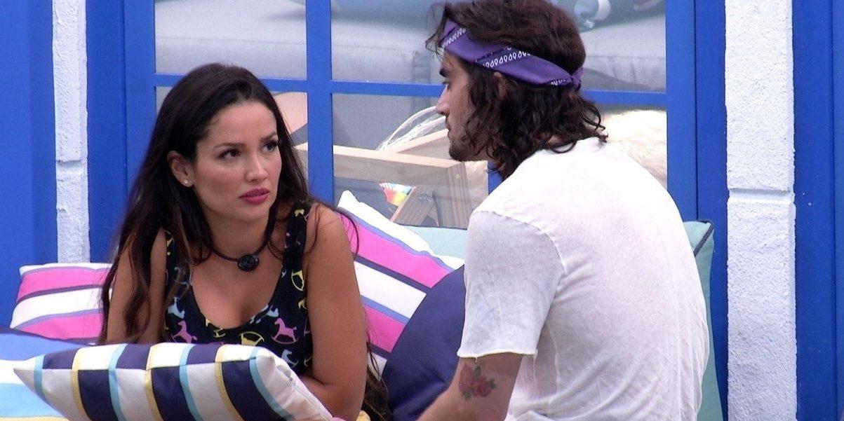 Fiuk e Juliette voltaram a ficar bastante próximos no BBB21 nessa reta final do reality show (Foto: Reprodução)