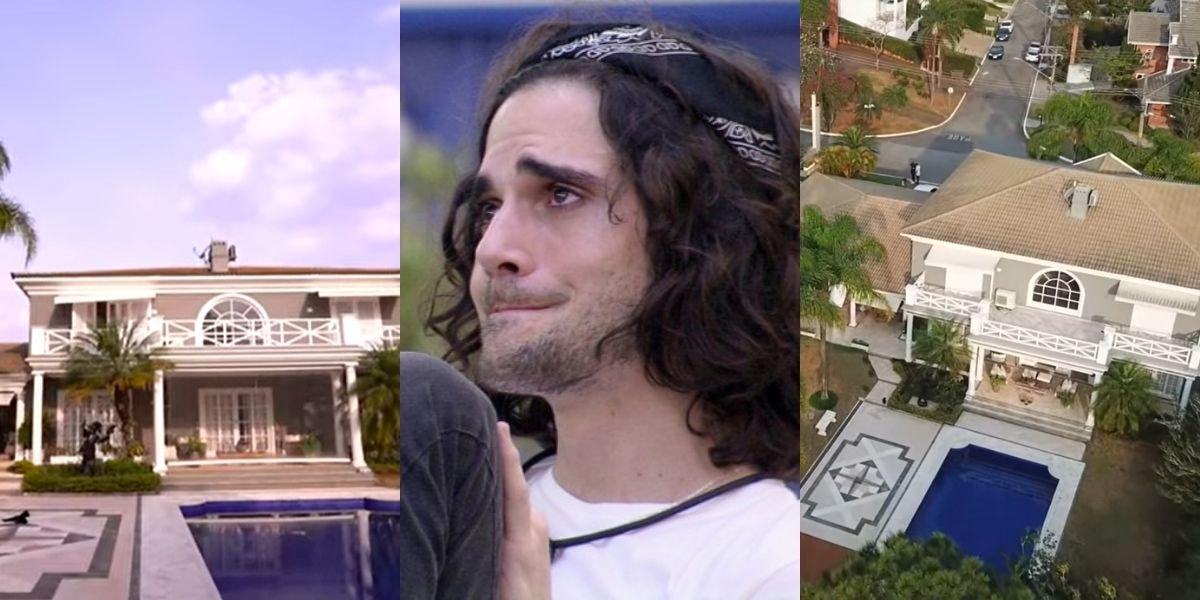 Fiuk vive em mansão milionária com Fábio Jr. (Montagem: TV Foco)