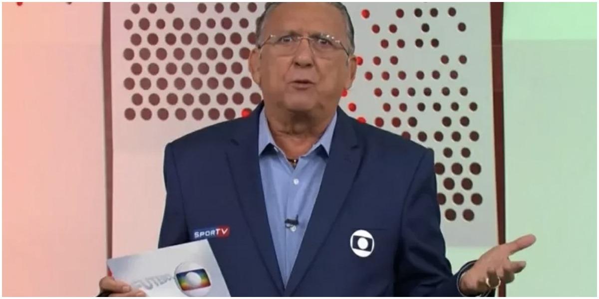 Volta de Galvão Bueno a Globo foi repleta de emoção (Foto: Reprodução)