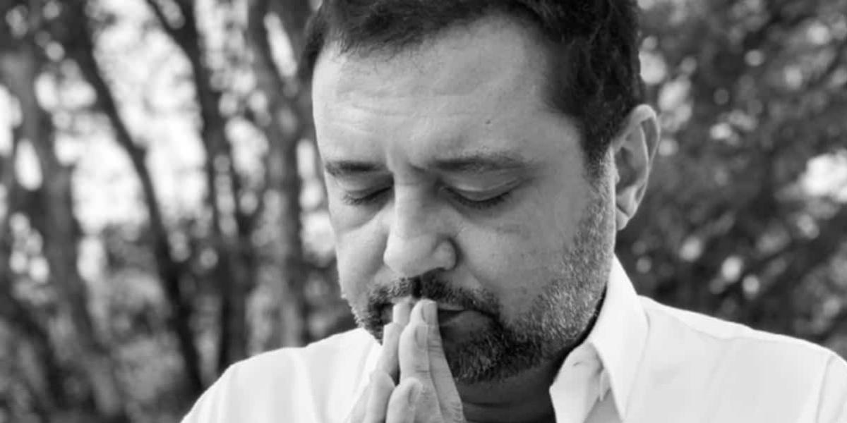 Geraldo Luís lamentou a morte de Levy Fidelix (Foto: Reprodução)