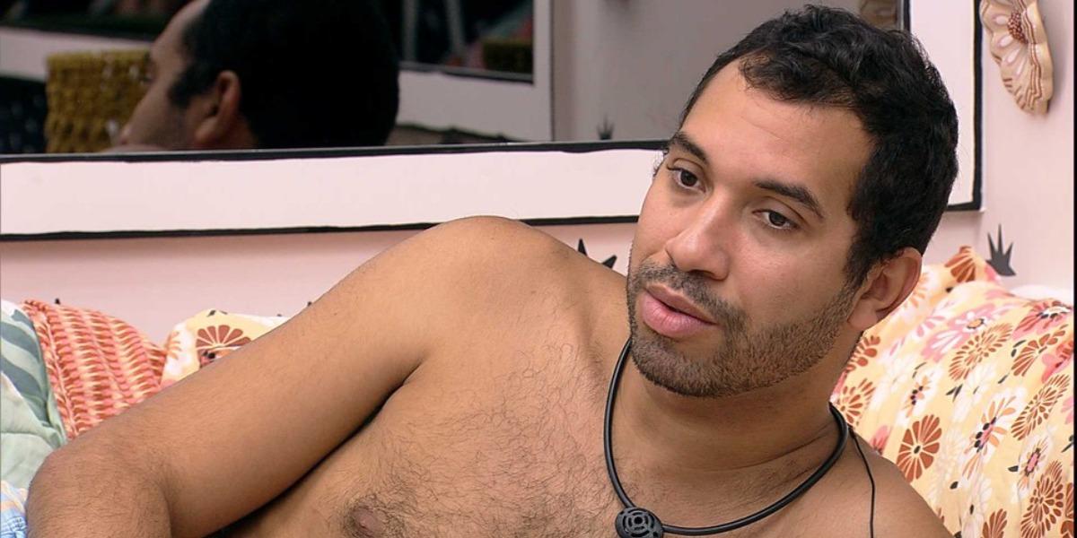 Gilberto no BBB21 (Foto: Reprodução)
