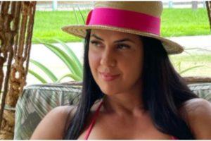 Graciele Lacerda usou as redes sociais para mostrar uma foto do seu bumbum e deu show de motivação (Foto: Reprodução)