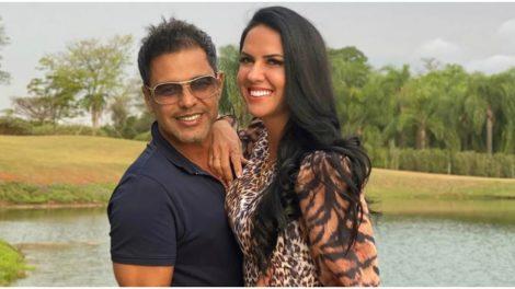 Graciele Lacerda faz inveja para Zilu ao mostrar luxo (Foto: Reprodução)