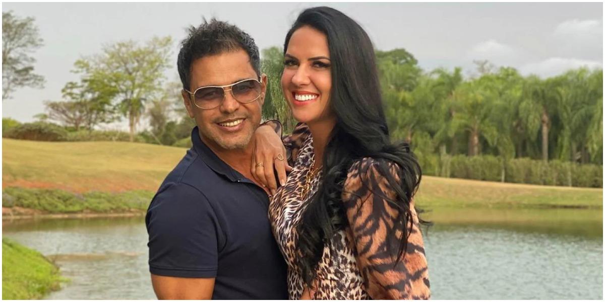 Zezé Di Camargo voltou a falar sobre a gravidez de Graciele Lacerda (Foto: Reprodução)