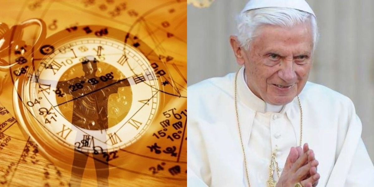 A sexta-feira, 16, é marcada pelo aniversário do Papa Bento XVI, pontífice do signo de Áries (Foto: Reprodução)