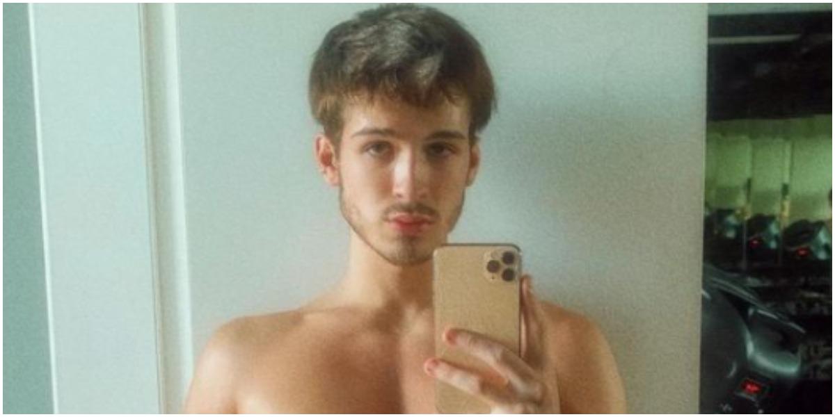 João Guilherme falou sobre o tamanho do pênis após ter nude vazado (Foto: Reprodução)