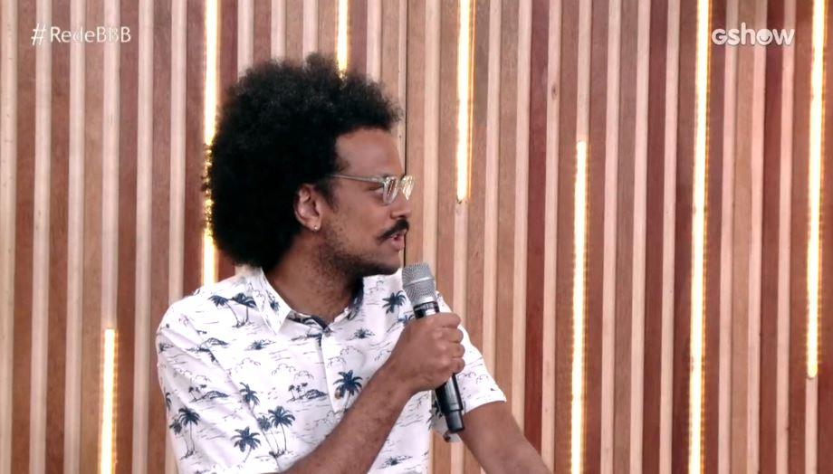 João Luiz no BBB21 (Foto: Reprodução)
