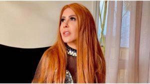 Joelma contou que usou a tesoura para ajeitar o cabelo embaraçado (Foto: Reprodução)