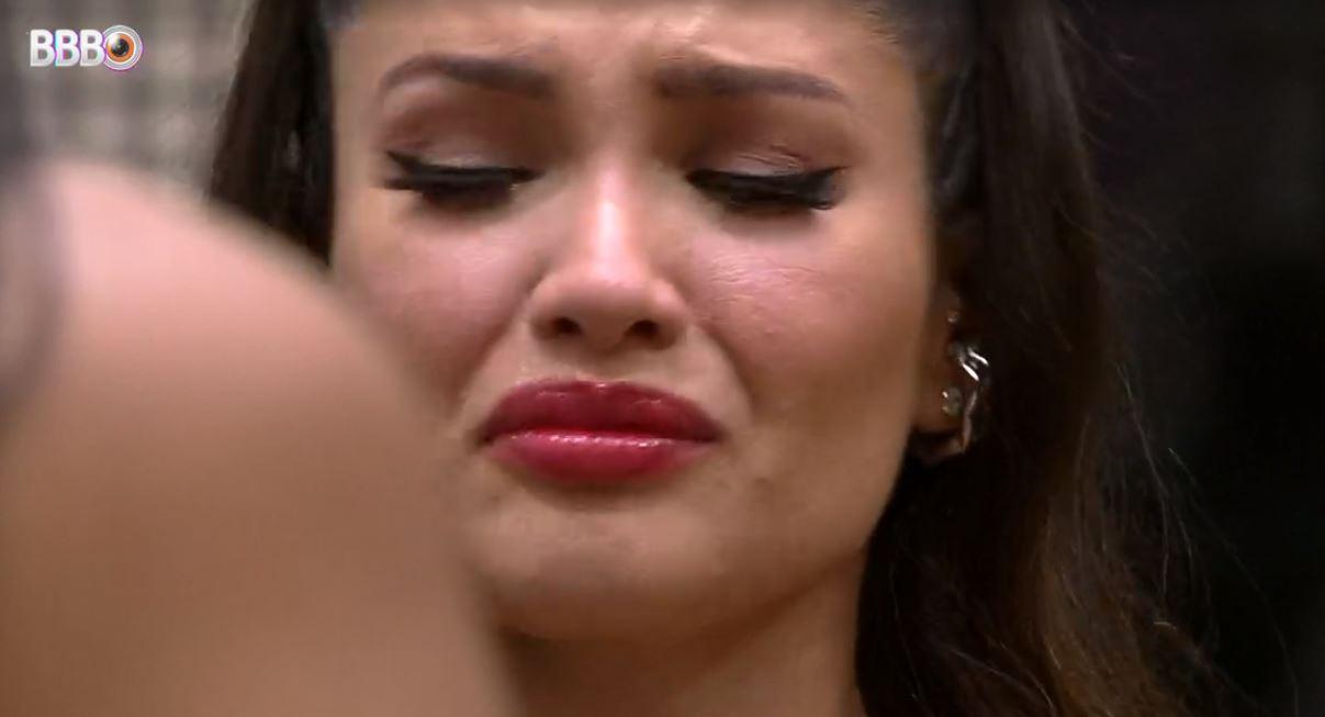 Juliette chora após Jogo da Discórdia no BBB21 (Foto: Reprodução)