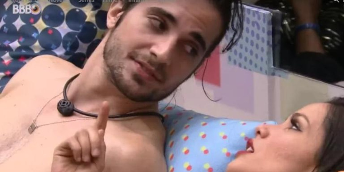 Juliette e Fiuk no BBB