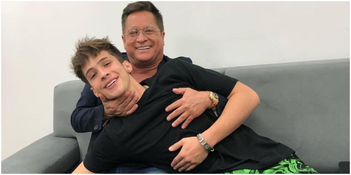 Leonardo e o filho João Guilherme brigaram na justiça - Foto: Reprodução