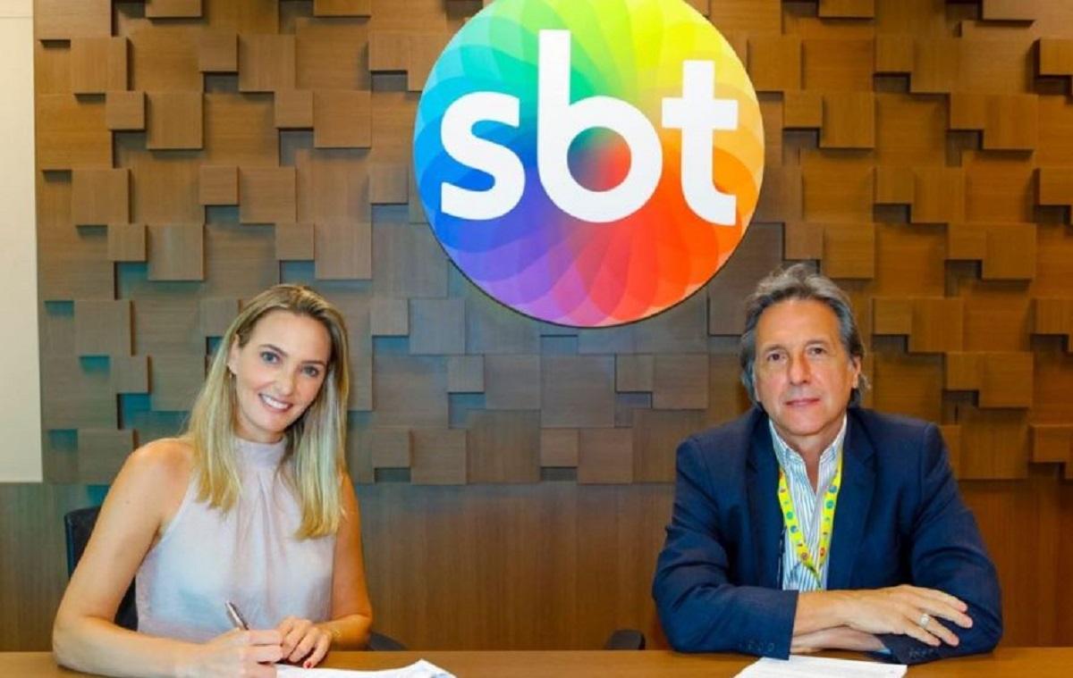 Nadine Basttos saiu da Globo e foi para o SBT (Foto: Reprodução)