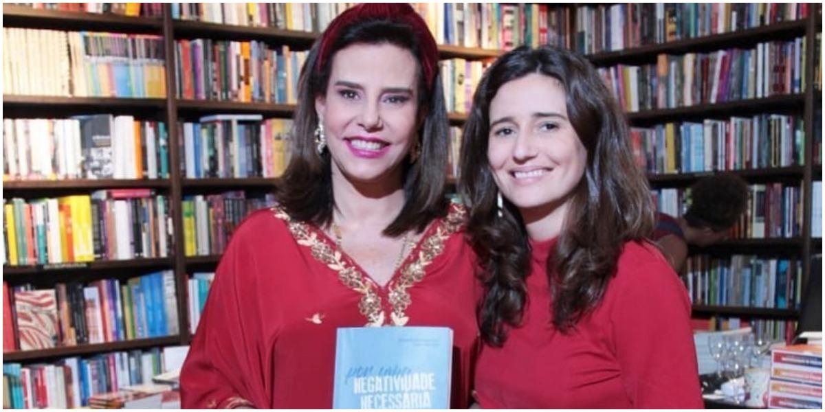 Boninho já foi casado com Narcisa e teve uma filha chamada Mariana (Foto: Reprodução)