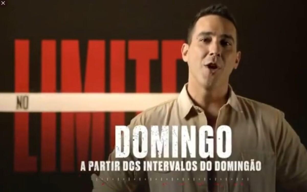 André Marques em No Limite (Foto: Divulgação)