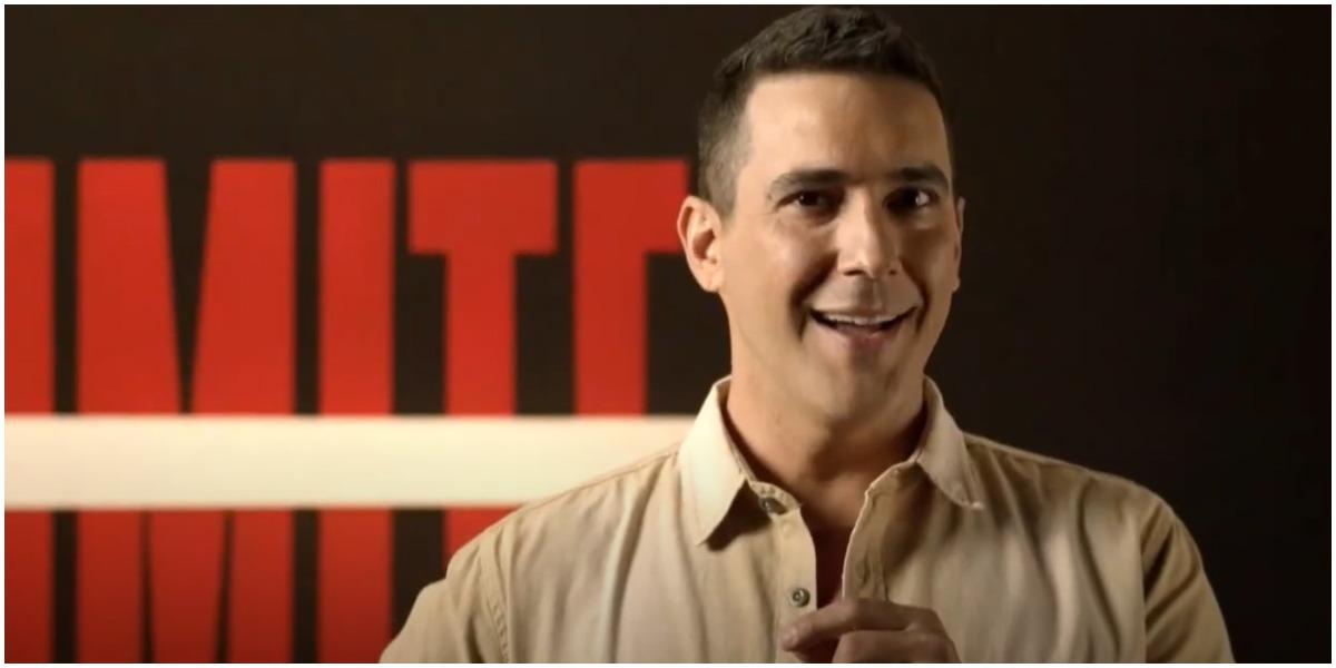 André Marques é o apresentador de No Limite, da Globo - Foto: Reprodução