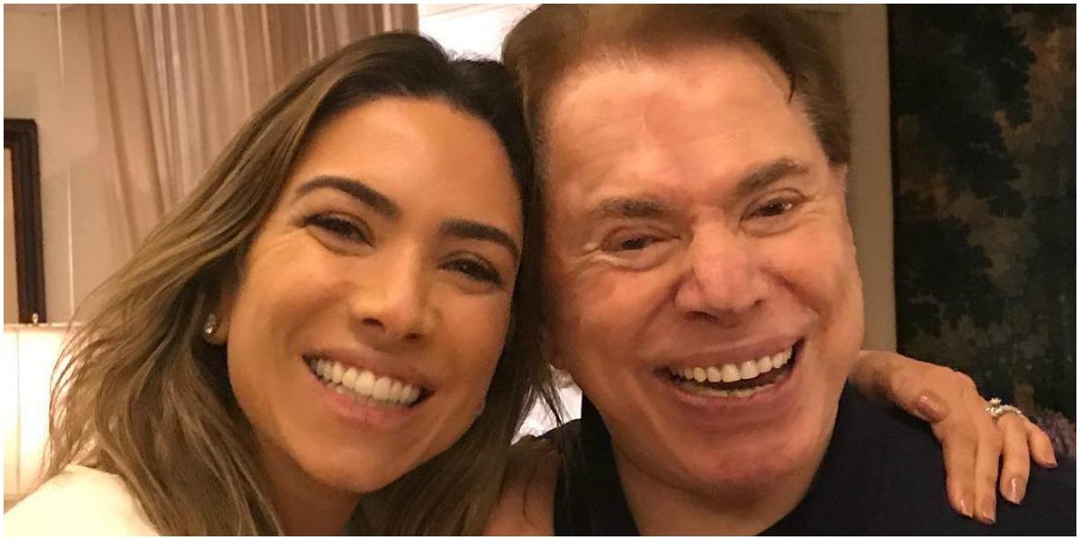Silvio Santos e a sua filha, Patricia Abravanel - Foto: Reprodução