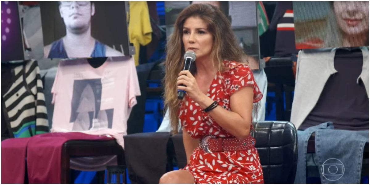 Paula Fernandes assustou com aparência no Altas Horas (Foto: Reprodução)