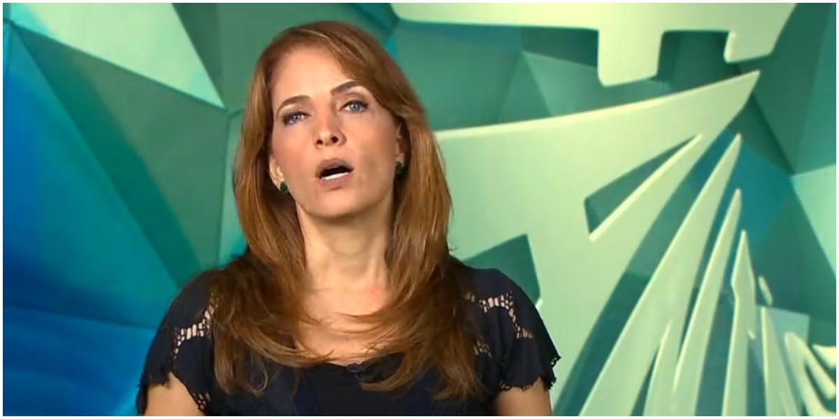 Poliana Abritta surpreendeu ao invadir o Jornal Nacional - Foto: Reprodução