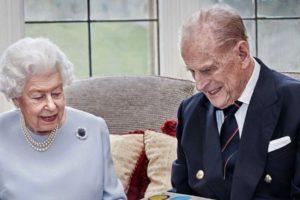 Príncipe Philip e a Rainha Elizabeth II (Foto: Reprodução)