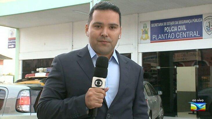 Olavo Sampaio, repórter da Globo (Reprodução)