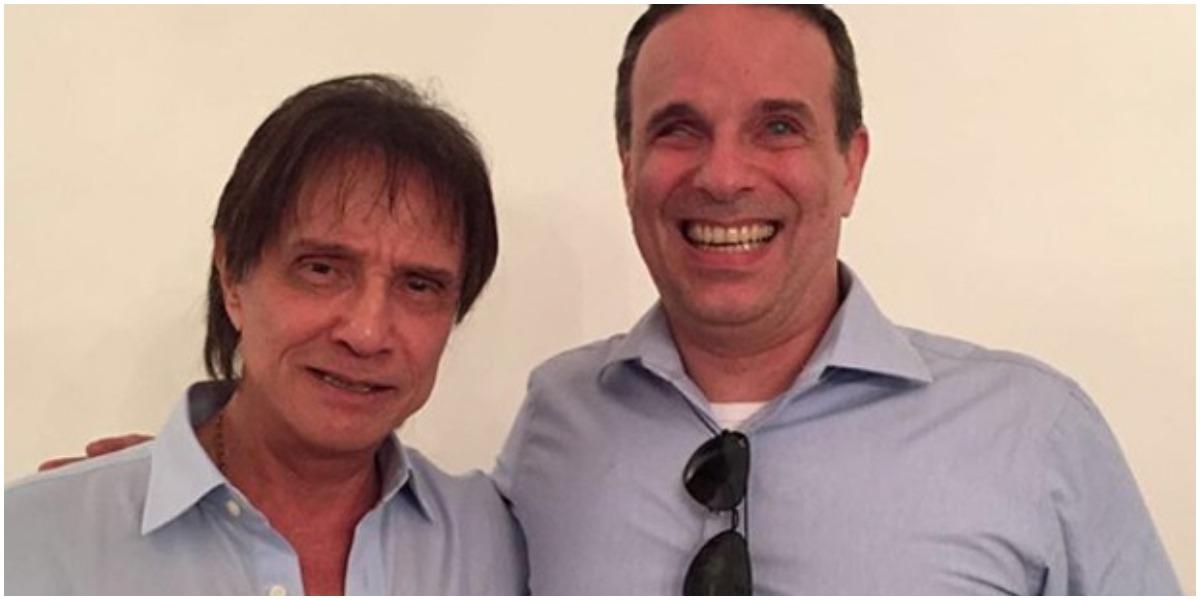 Filho de Roberto Carlos foi internado após sentir dor abdominal (Foto: Reprodução)
