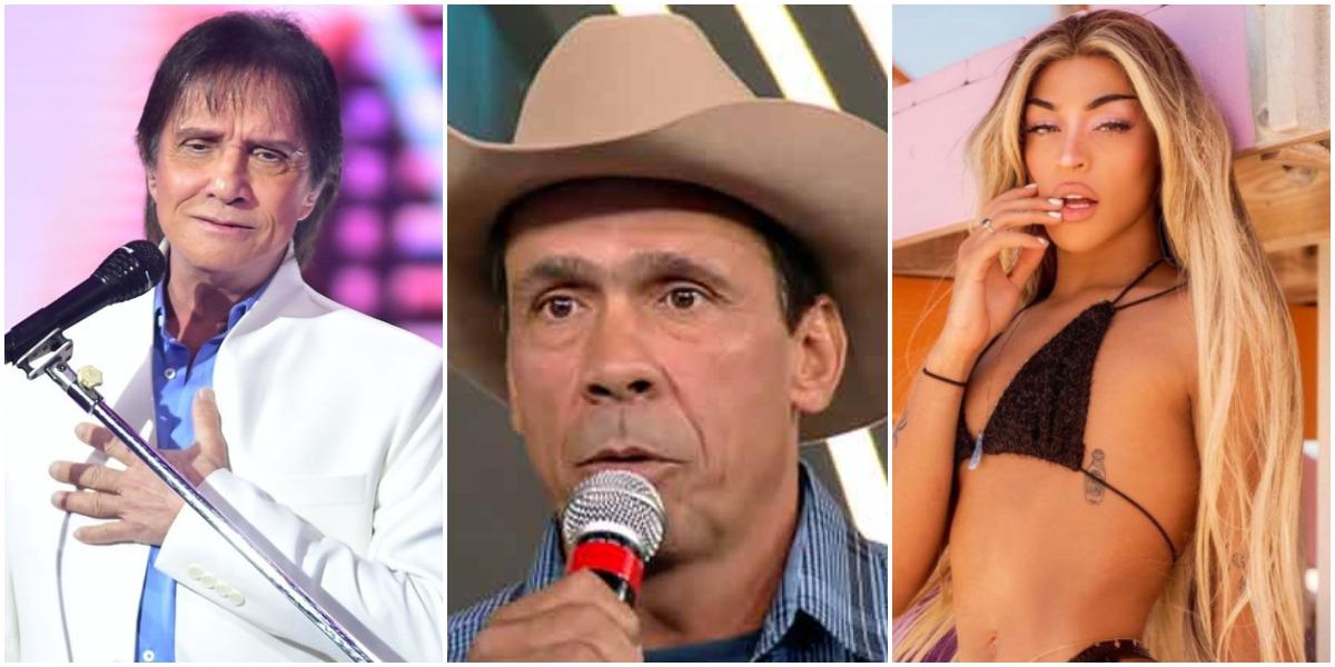 Roberto Carlos, Cowboy, Pabllo Vittar e outros que sofreram acidentes e perderam parte do corpo (Foto: Reprodução)