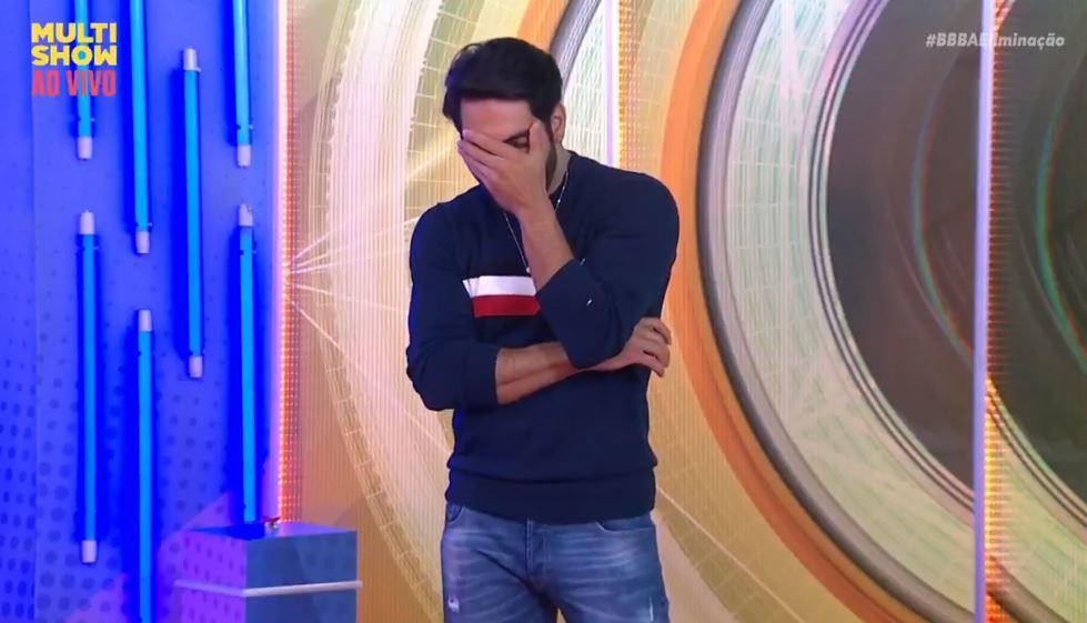 Rodolffo ficou horrorizado após sair do BBB21 (Foto: Reprodução)