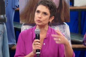 Sandra Annenberg no Altas Horas (Reprodução: Globo)