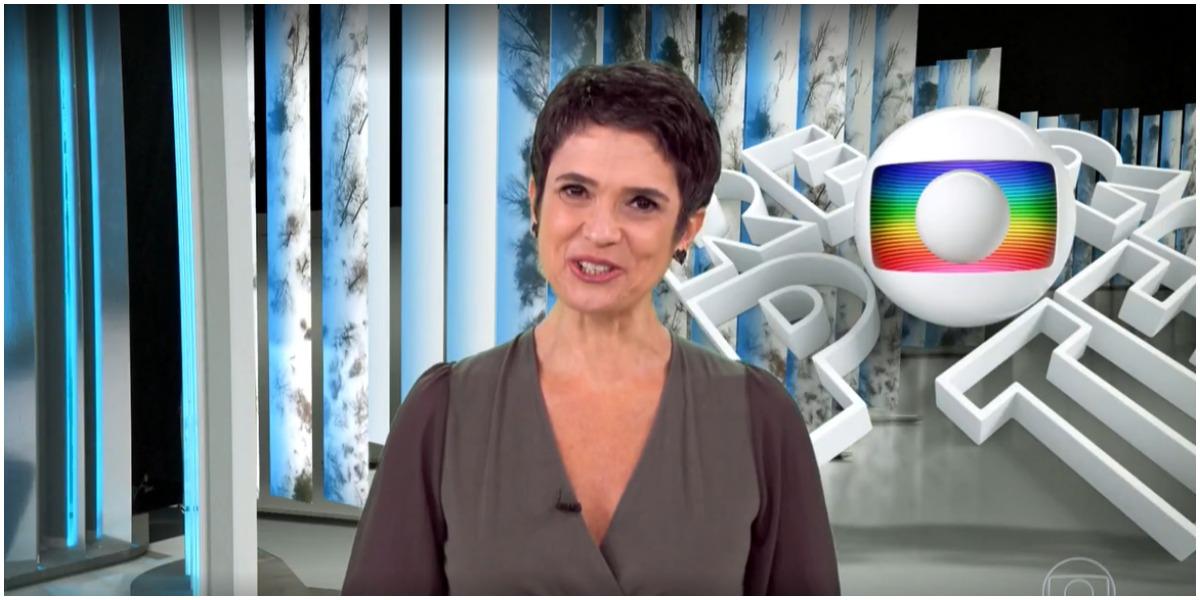 Sandra Annenberg se separou oficialmente do Jornal Hoje da Globo (Foto: Reprodução)