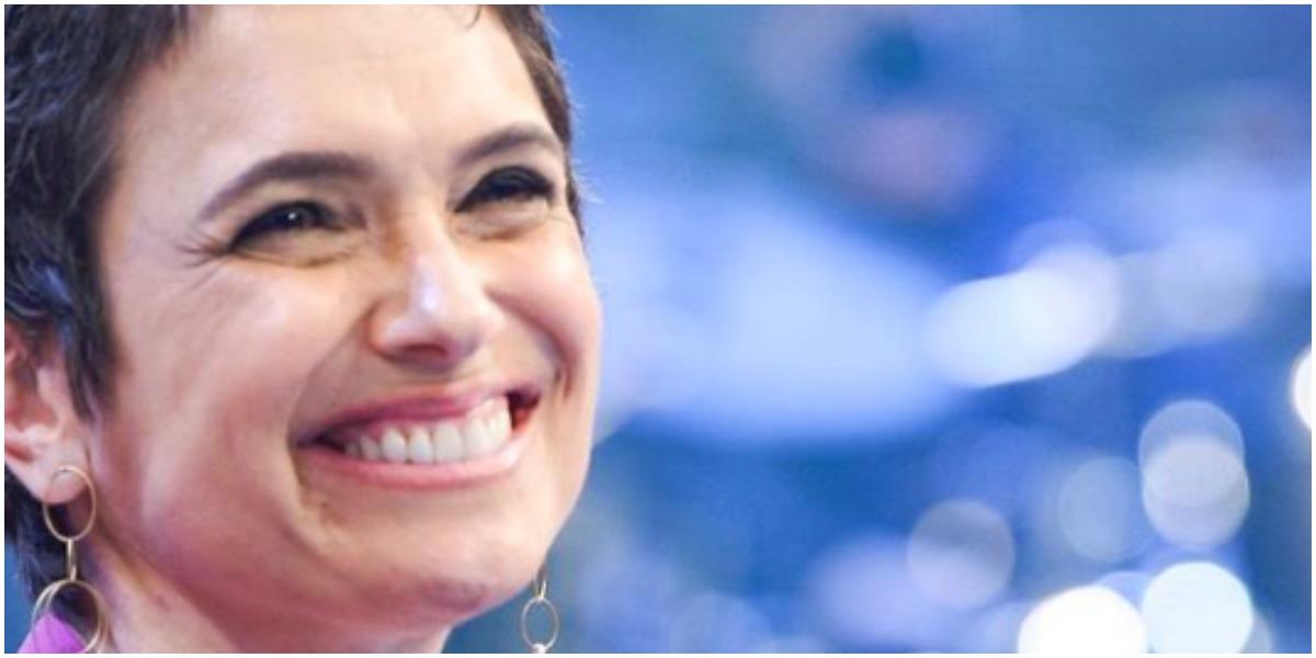 Sandra Annenberg manda mensagem na lata para apresentador da Globo (Foto: Reprodução/ Instagram)