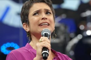 Sandra Annenberg esteve no Altas Horas da Globo e falou sobre Maju Coutinho no Jornal Hoje (Foto: Reprodução)