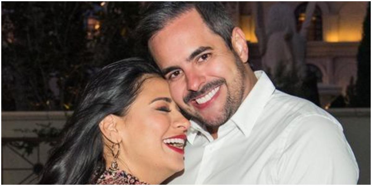 Simone ao lado do marido, o empresário Kaká Diniz (Foto: Reprodução)