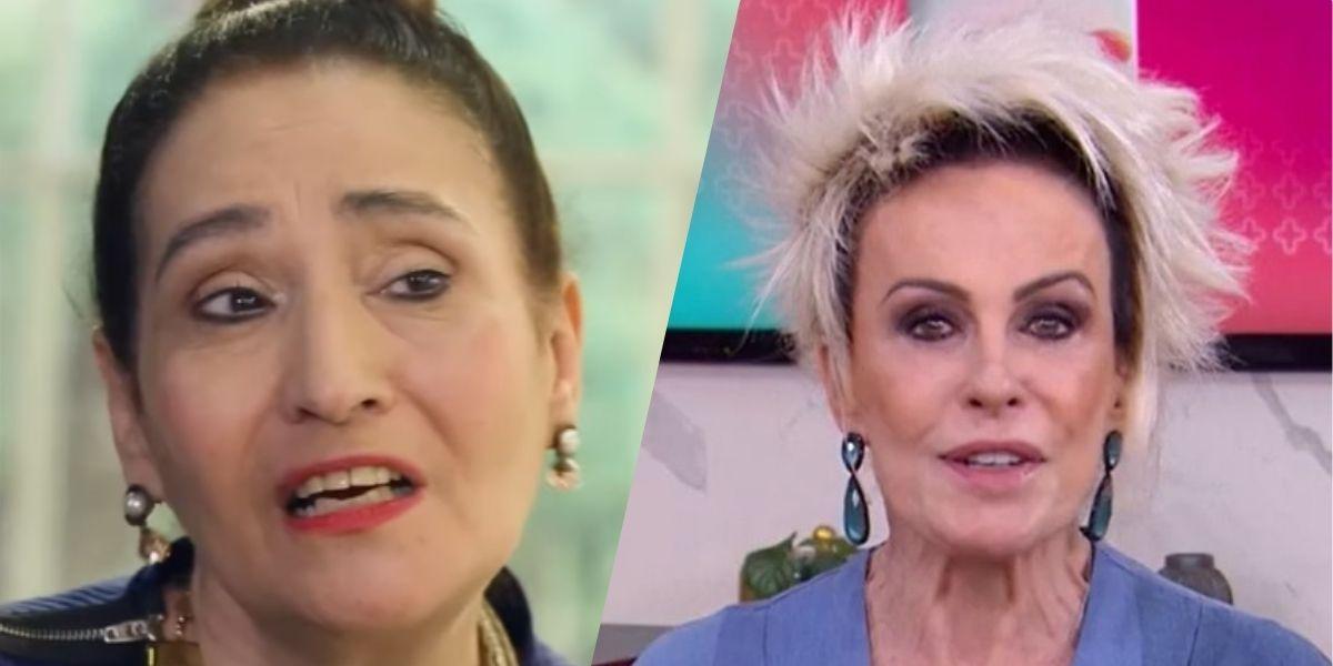 Sonia Abrão e Ana Maria (Montagem: TV Foco)