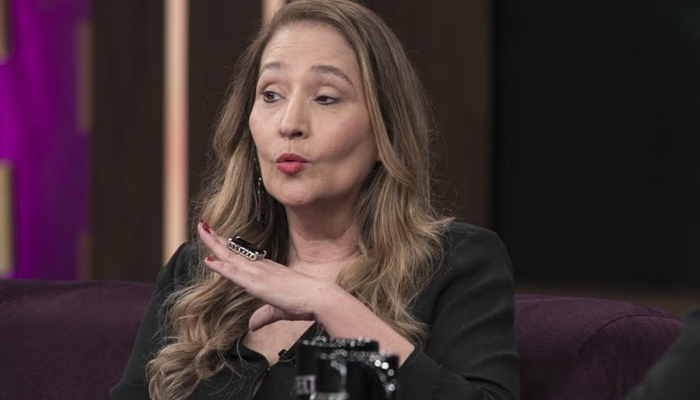 Sonia Abrão, apresentadora do A Tarde é Sua da RedeTV (Foto reprodução)