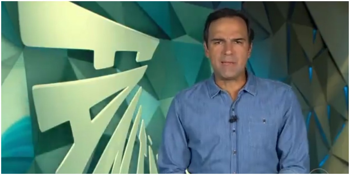Tadeu Schmidt comanda o Fantástico na Globo - Foto: Reprodução